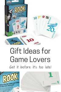 gift ideas for game lovers family rook