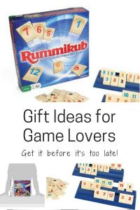 gift ideas for game lovers family rummikub