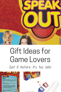 gifts for the game loving family game lover speak out