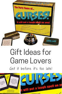 gift ideas for game lovers family curses