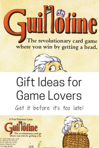 gift ideas for game lovers family guillotine