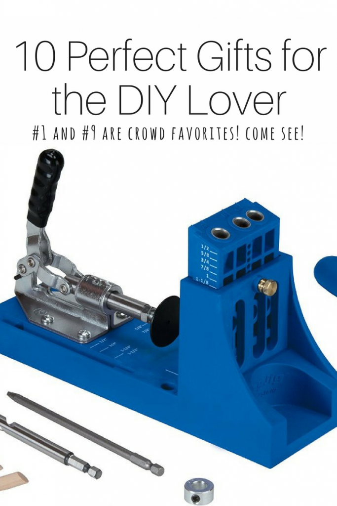 Gifts for the DIY Lover, DIY enthusiast, Gift ideas for the DIY enthusiast, 10 perfect gifts for the DIY lover, kreg jig, washi tape, heat gun, personal tool set, Christmas gifts, Christmas gift ideas, gifts to give your DIY-er, gifts for the DIY-er in your life