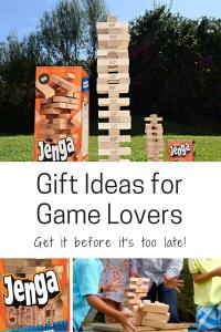 gift ideas for game lovers family jenga giant