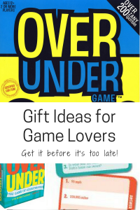 gift ideas for game lovers family over under